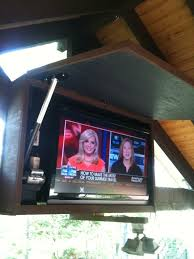 Outdoor Tv Cabinets For Flat Screens by Outdoor Tv Cabinet Automated Products I Love Pinterest