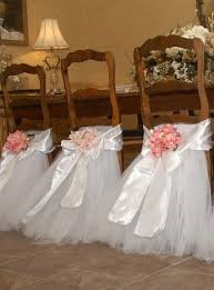 tutu chair covers white tutu tulle chair sashes satin bow sash custom made