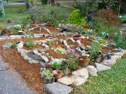 rock garden ideas slope in dazzling a path flagstones plus river
