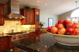 Natural Cherry Shaker Kitchen Cabinets How To Coordinate Paint Color With Cabinet Color Home Guides