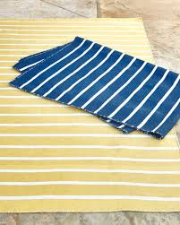 Yellow Outdoor Rug Pinstripe Indoor Outdoor Rug