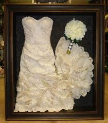 wedding dress shadow box best 25 wedding dress frame ideas on wedding dress