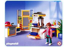 playmobil cuisine 5329 salon villa moderne play mobil