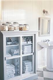 Bathroom Storage Ideas With Pedestal Sink Bathroom Cabinets Ideas Storage Small Metal Basket With Handle