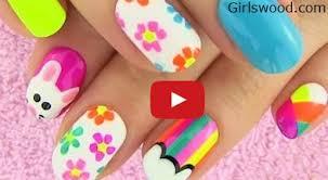 easy nail art for short nails at home how to nail designs