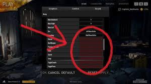 pubg settings pubg control settings fix youtube