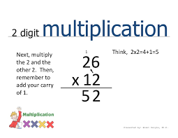 2 digit multiplication easily explained