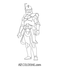 star wars captain rex coloring pages coloring home