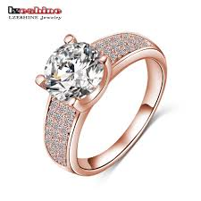 aliexpress buy beagloer new arrival ring gold hot sale for new store hot selling golde silver color micro inlay