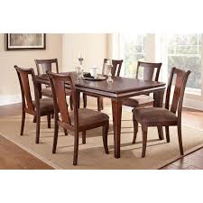 steve silver aubrey 7 piece dining table set with optional server