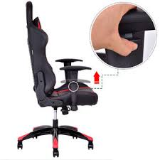 Ergonomic Computer Desk Goplus Racing High Back Reclining Gaming Chair Ergonomic Computer