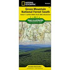 Vermont State Parks Map by 748 Green Mountain National Forest South Robert T Stafford White