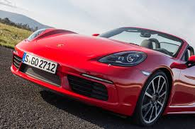 red porsche truck 2017 porsche 718 boxster reviews and rating motor trend