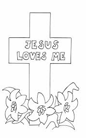 easter coloring pages for sunday school preschool coloring page