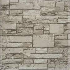 Stone Brick Aliexpress Com Buy 10m Stone Wall Textured Feature 3d Wallpaper