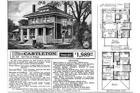 sears catalog homes floor plans architectures american foursquare house plans is your foursquare