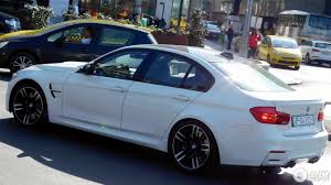 Bmw M3 White 2016 - bmw m3 f80 sedan 2016 18 july 2017 autogespot
