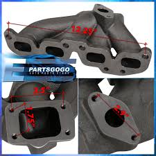 nissan altima exhaust manifold for 02 10 nissan sentra qr25 iron cast turbo exhaust manifold high