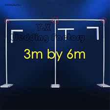 wedding backdrop prices wholesale price wedding background stent for wedding backdrop stand