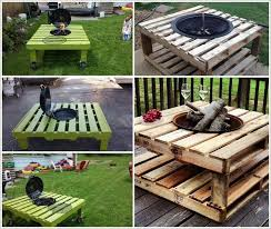 Bbq Side Table Plans Fire Pit Design Ideas - build a pallet fire pit that won u0027t break the bank 1 amazing