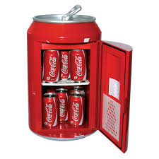 coca cola can soda mini fridge novelty mini refrigerators