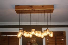 How To Mason Jar Chandelier Pallet Chandelier For Your Home Pic Reclaimed Pallet Wood Mason