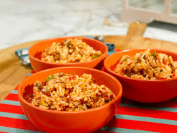 food network thanksgiving sides bahamian peas and rice recipe sunny anderson rice recipes and