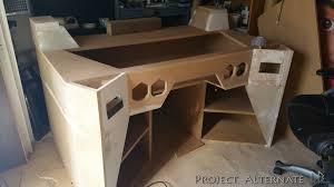 Computer In Desk Computer Desk Build Log Hostgarcia