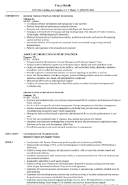 engineer resume exles production support engineer resume sles velvet