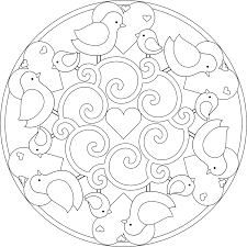 magnificent paisley mandala coloring pages with printable mandala