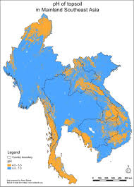 Map Of South East Asia Soils Of Mainland Southeast Asia 3 Echocommunity Org