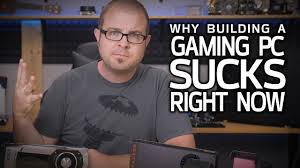 Building A Game Room - 4 reasons building a gaming pc right now youtube