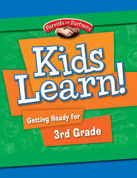 kids learn getting ready for 3rd grade bilingual version