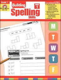 building spelling skills grade 1 007010 details rainbow