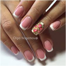 126 best french manicure images on pinterest acrylics french