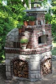 Backyard Brick Pizza Oven Vuurplaats Tuin Idee Pinterest Patios Outdoor Projects And
