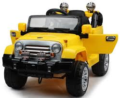jeep toy car jeep style jj 245 ride on car w remote control battery operated 12