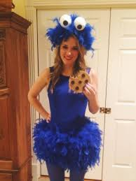 diy cookie monster costume halloween pinterest monster