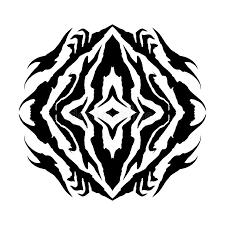 Glyph Symbol - shaman eye vector glyph symbol royalty free stock image image