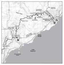 Castle Rock State Park Map by Hike From Two Harbors To Silver Bay On The Sht In Mn