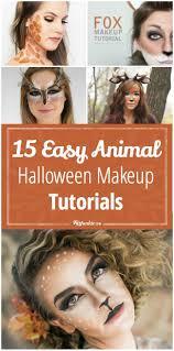 15 easy animal halloween makeup tutorials tip junkie