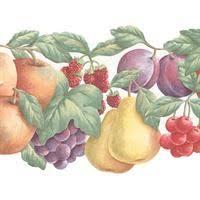 fruit wallpaper border kitchen wallpaper borders fruit