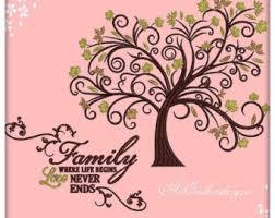 family tree design etsy