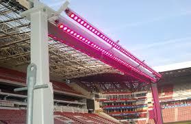 philips led grow light stadium grow lighting sgl led trial at psv philips stadion