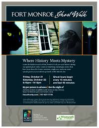 special event u2013fort monroe ghost walk fort monroe authority
