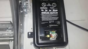 garage door opener lift master programming 8500 liftmaster with 890 lm garage door opener youtube