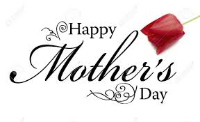 mothers day card mothers day card with text and ornaments stock photo