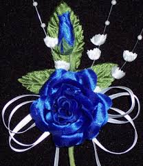 royal blue corsage and boutonniere corsages boutonnieres for wedding balls prom