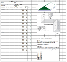 Roof Estimate by Roofing Estimate Sheet How To Estimate Roofing Cost