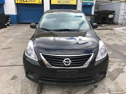 black nissan versa used 2012 nissan versa sv sedan 6 690 00